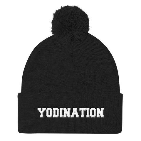 Yodi Nation -Pom Pom Knit Cap