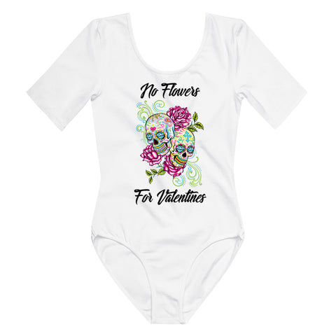 No flowers Short Sleeve Bodysuit