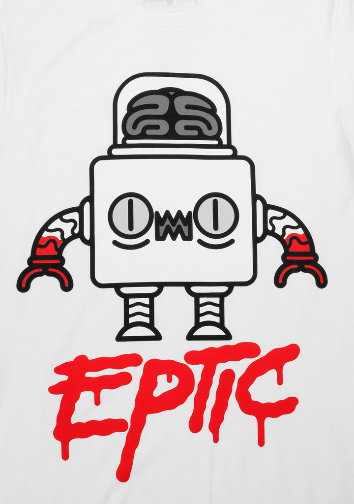 "Eptic ""BLOOD"" T-Shirt White"
