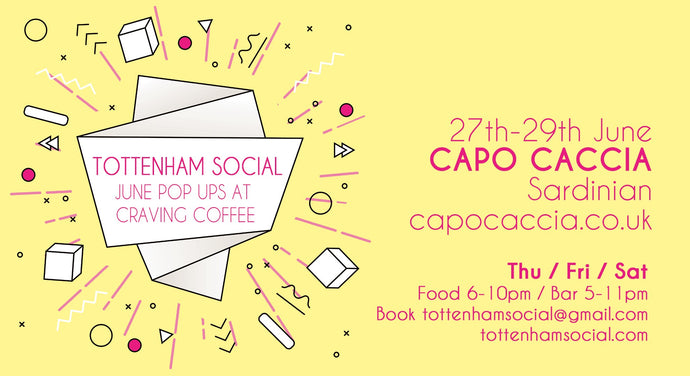 Sardinian Food & Drink Pop-Up - Tottenham Social at Craving Coffee