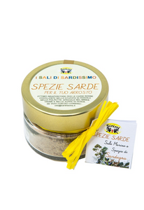 Sardinian Sea Salt with Sardinian Herbs
