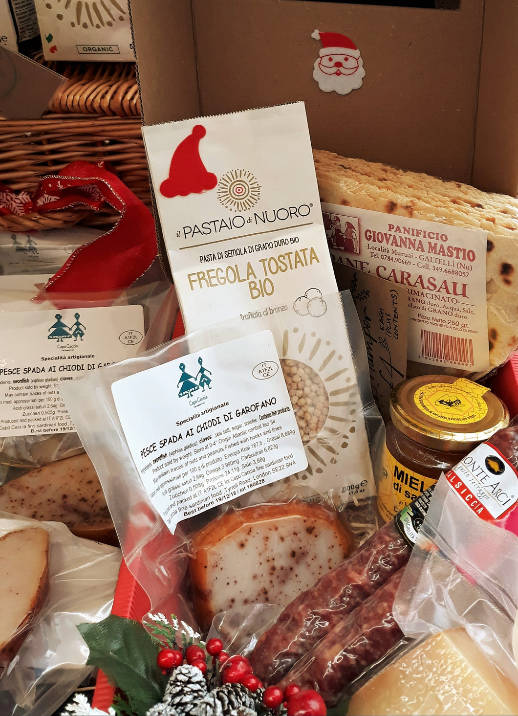 Sardinian Cheese Gift Hamper