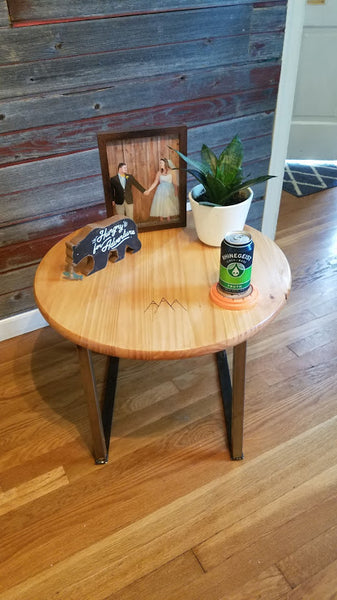 Teton Inspired End Table