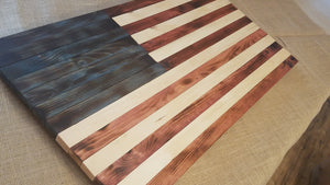 Colored Wooden Flag