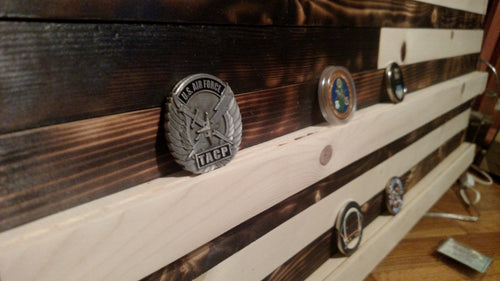 Coin Shelf Flag