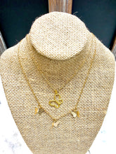 Load image into Gallery viewer, Butterfly Project Signature Necklace 18k gold