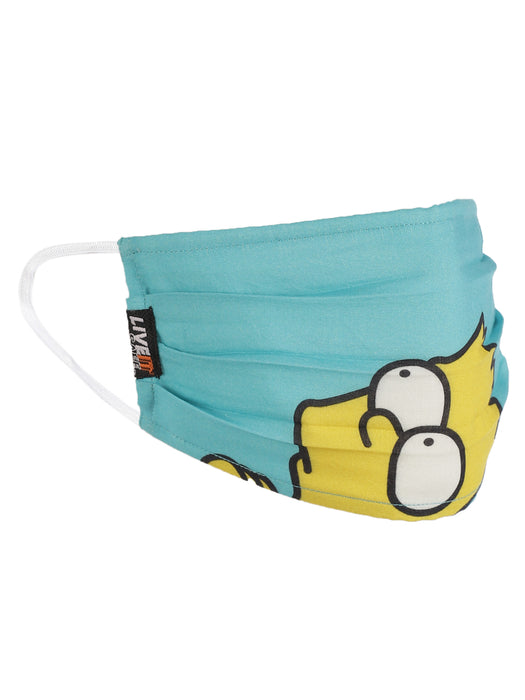 X3 SIMPSON COTTON FACE MASK FREE SIZE UNISEX