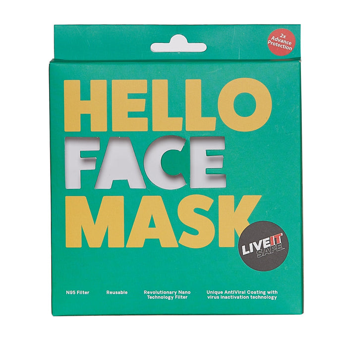 X3 SPACE COTTON FACE MASK FREE SIZE UNISEX