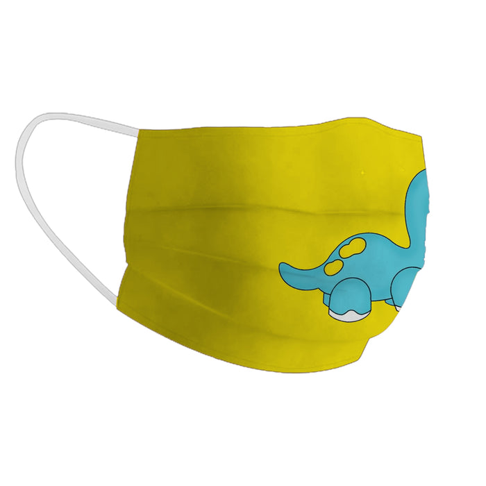 X3C CUTE DINOSAUR FACE MASK UNISEX