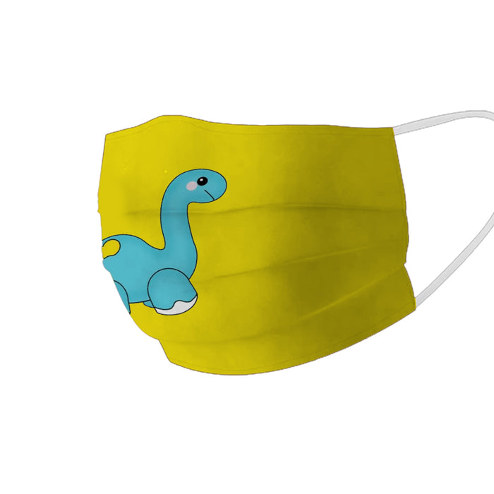 X3C KIDS CUTE DINOSAUR FACE MASK UNISEX