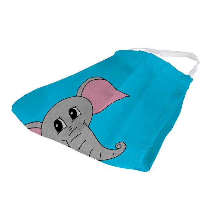 X3C CUTE ELEPHANT FACE MASK UNISEX