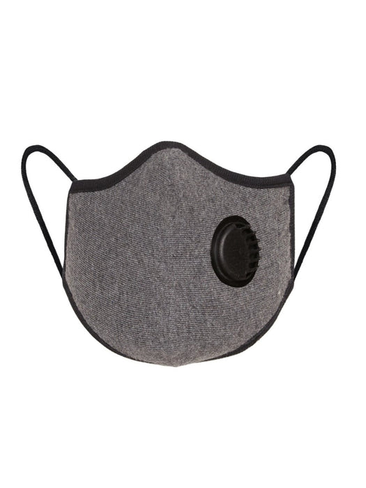X1R RESPIRATOR N95 COTTON FACE MASK DARK GREY