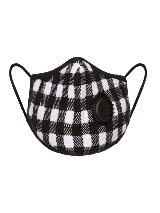 X1R RESPIRATOR N95 COTTON FACE MASK GINGHAM