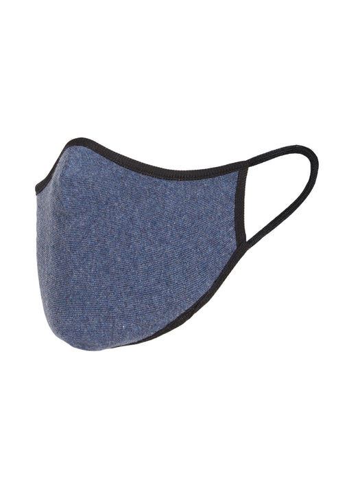 X1 N95 COTTON KNITTED FACE MASK DENIM BLUE