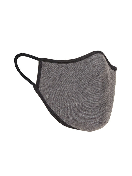 X1 N95 COTTON KNITTED FACE MASK DARK GREY