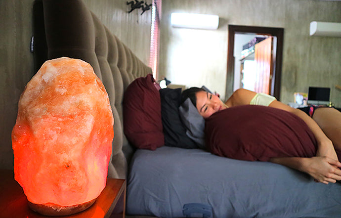 Can you leave a Himalayan Salt Lamp on Overnight?