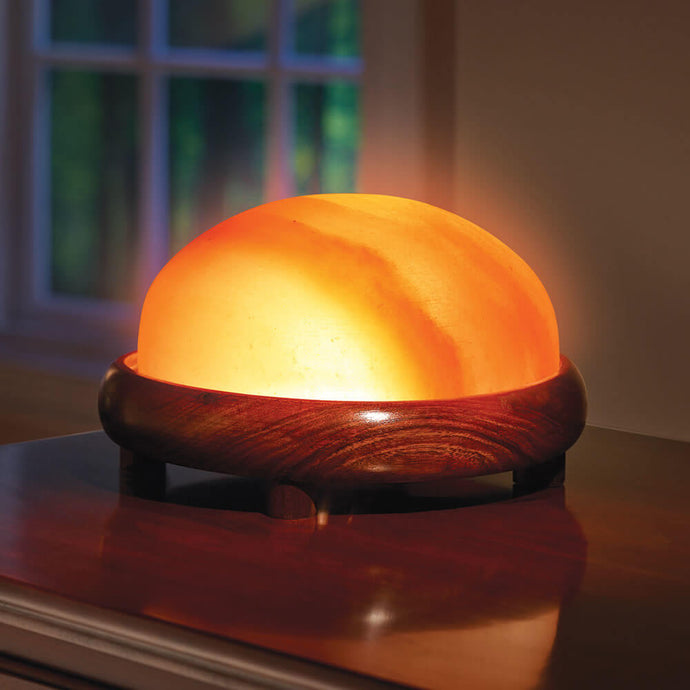Himalayan Pink Salt Foot Dome - For Detoxing - Himalayan Trading Co. Himalayan Salt Lamp Himalayan Pink Salt