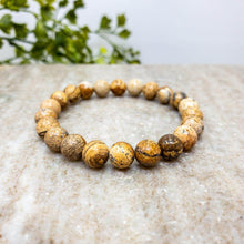 Load image into Gallery viewer, Picture Jasper Himalayan Stone Bracelet - Himalayan Trading Co.®