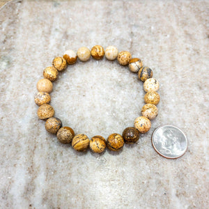 Picture Jasper Himalayan Stone Bracelet - Himalayan Trading Co.®