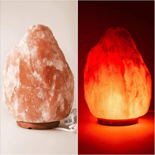 Load image into Gallery viewer, Original Himalayan Salt Lamp (Medium) (Set of 6) - Himalayan Trading Co. Himalayan Salt Lamp Himalayan Pink Salt