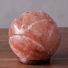 Load image into Gallery viewer, Sacred Lotus Himalayan Salt Lamp - Himalayan Trading Co. Himalayan Salt Lamp Himalayan Pink Salt