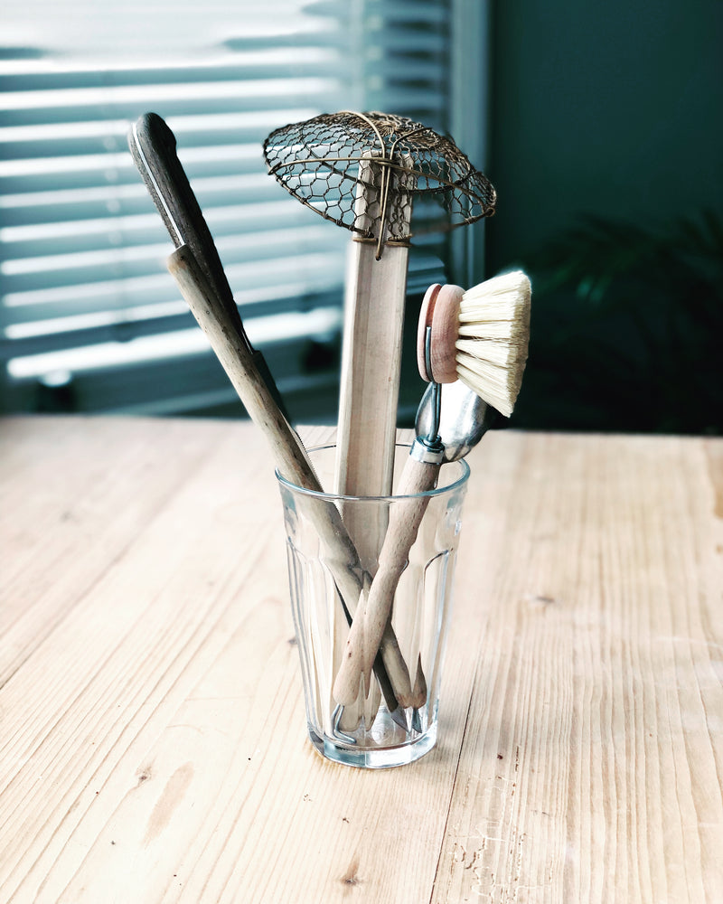 Plastic Free Vegan Plant Fibre Dish Washing Brush