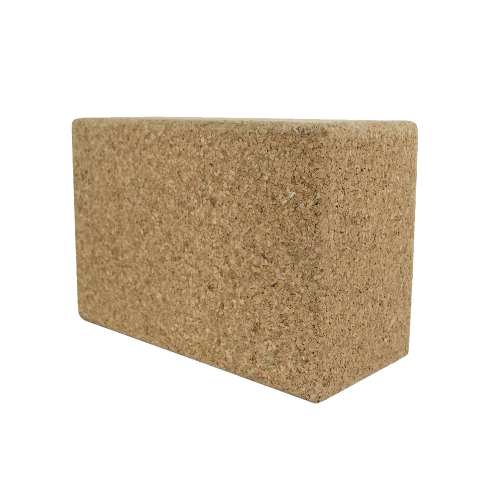 Recycled Cork Yoga Block