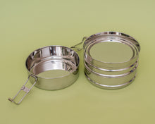 Load image into Gallery viewer, Reusable Stainless Steel Eco Bento Stack