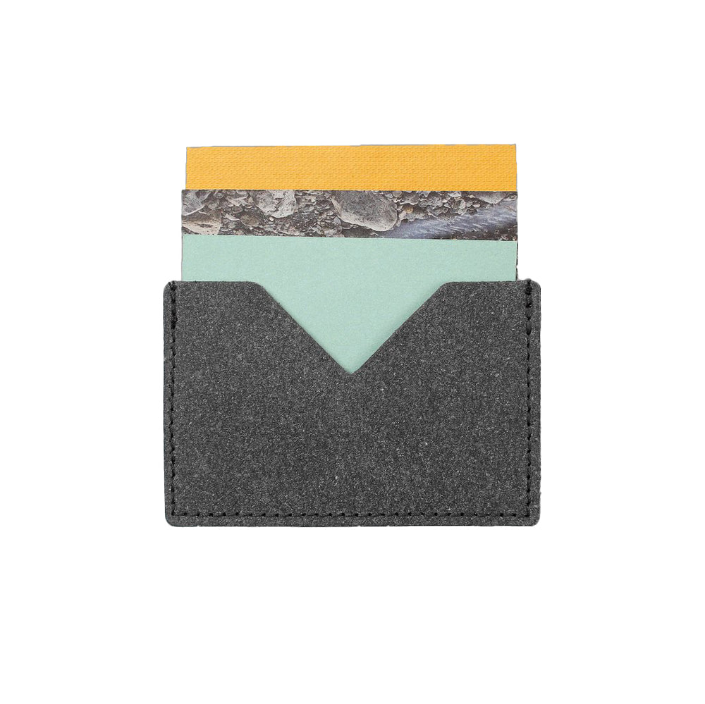 Plastic Free Recycled Leather Card Holder