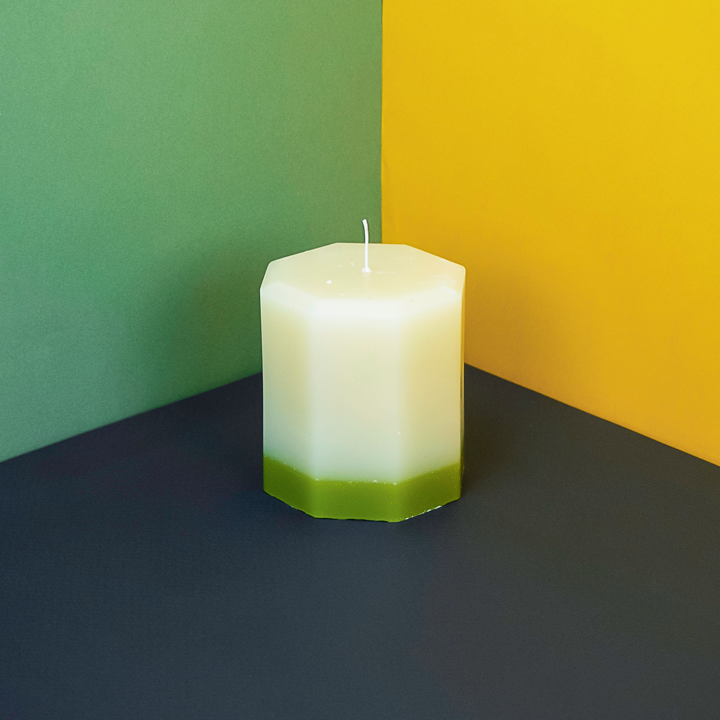 Recycled Scented Pillar Candle