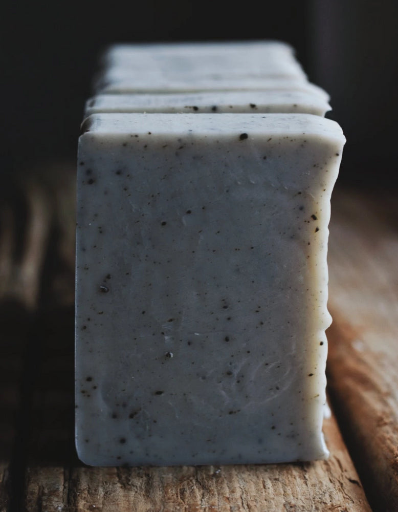 Natural Vegan Face Soap Scrub - French Clay