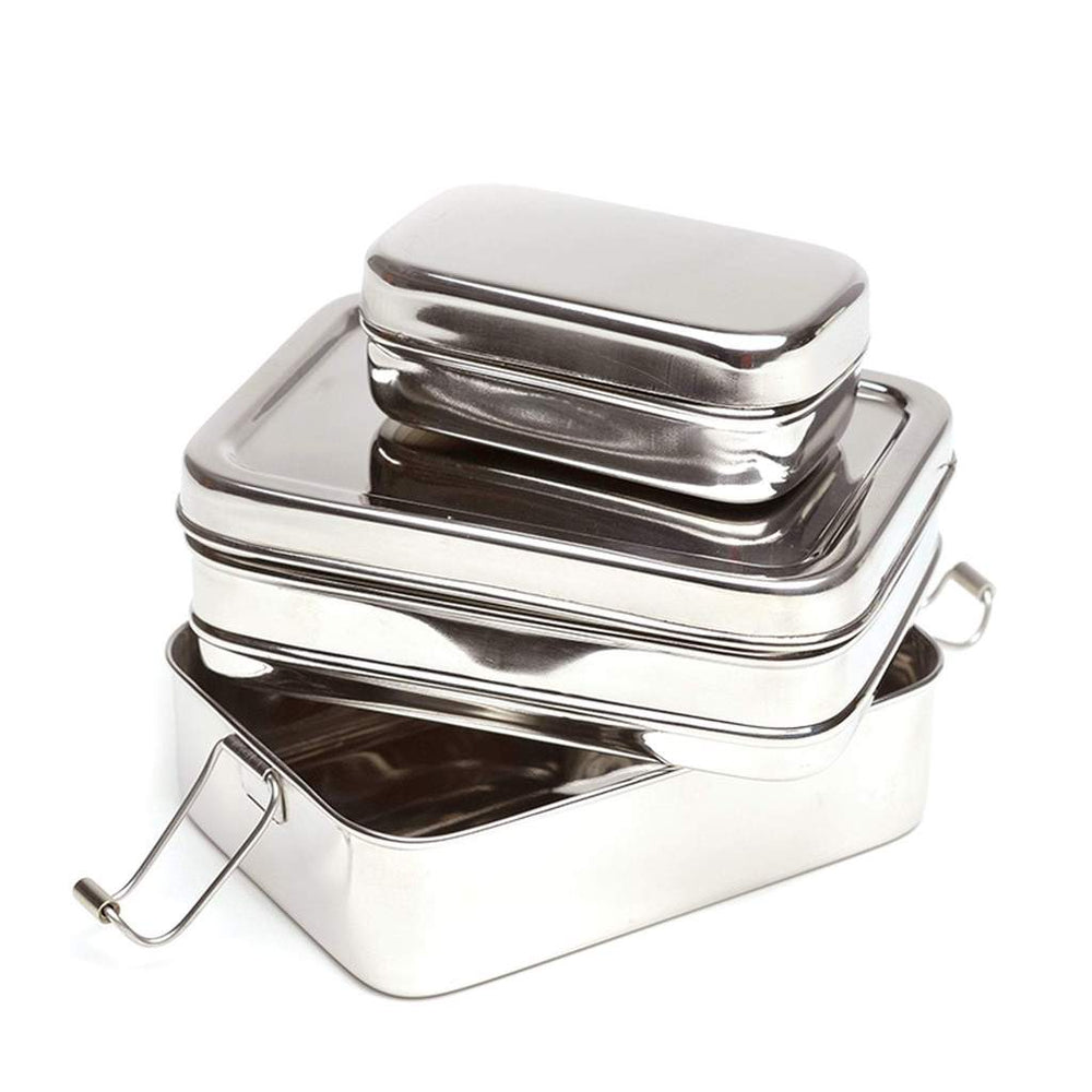 Plastic Free Stainless Steel Lunchbox
