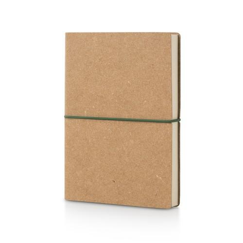 Plastic Free Recycled Notebook Stationery CIAK Plain Cork