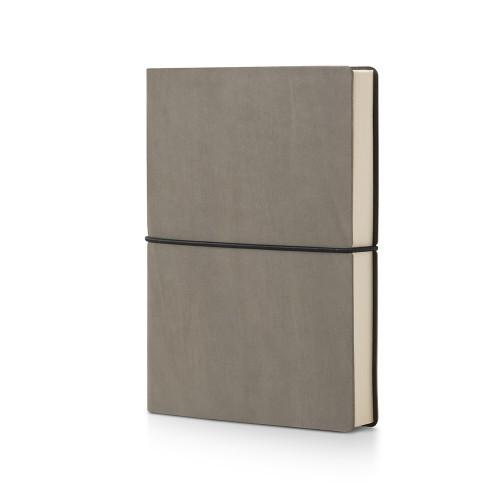 Plastic Free Recycled Notebook Stationery CIAK Plain Grey