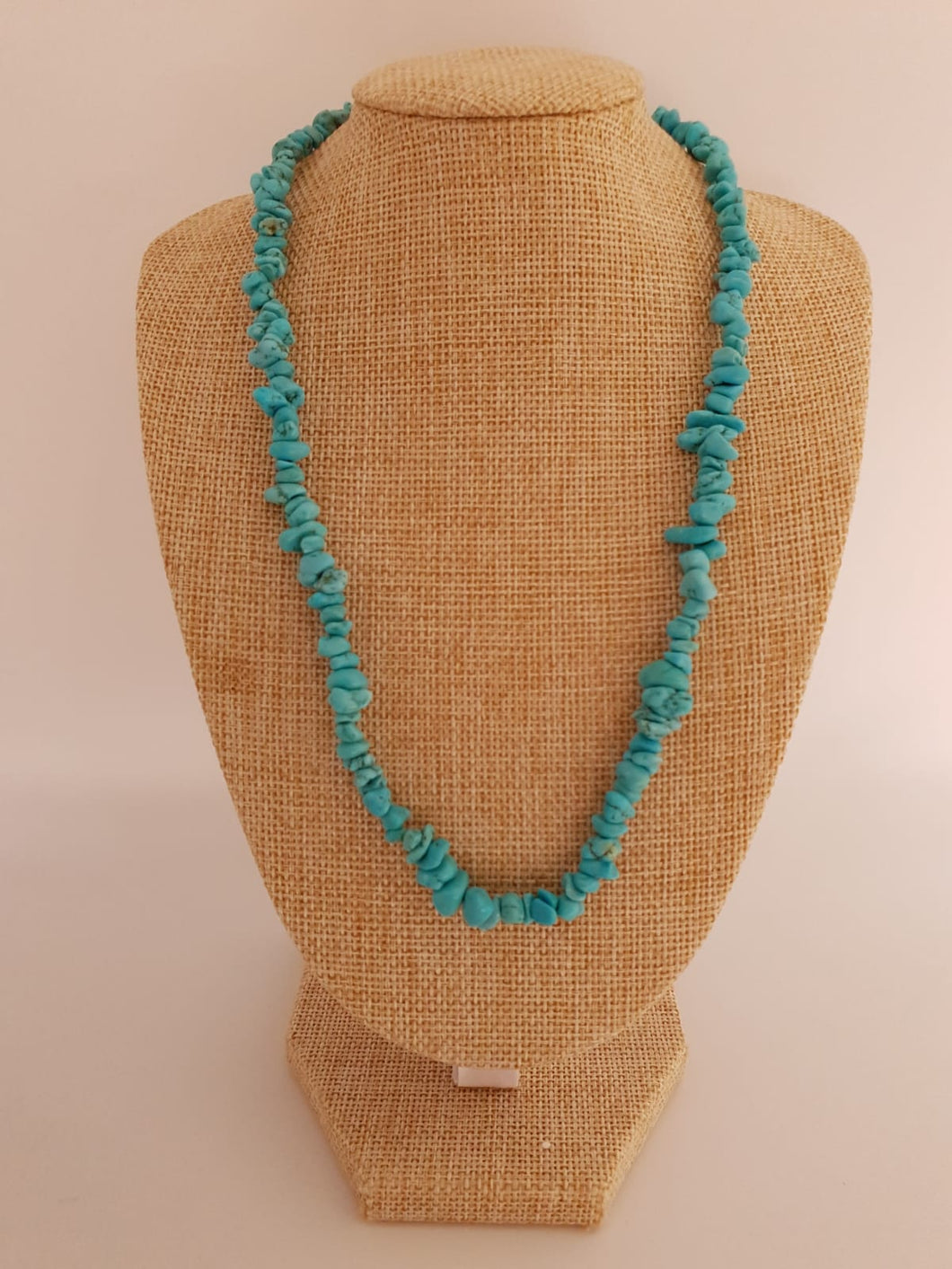 PROPRIANO : Collier turquoise véritable