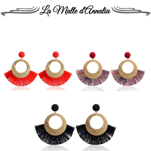 SILVIA  : boucles originales aux multiples reflets