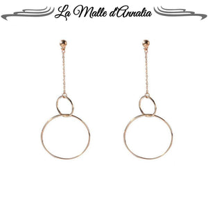 SAVERIA: double cercles chic