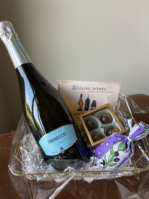 Single Wine Gift Basket
