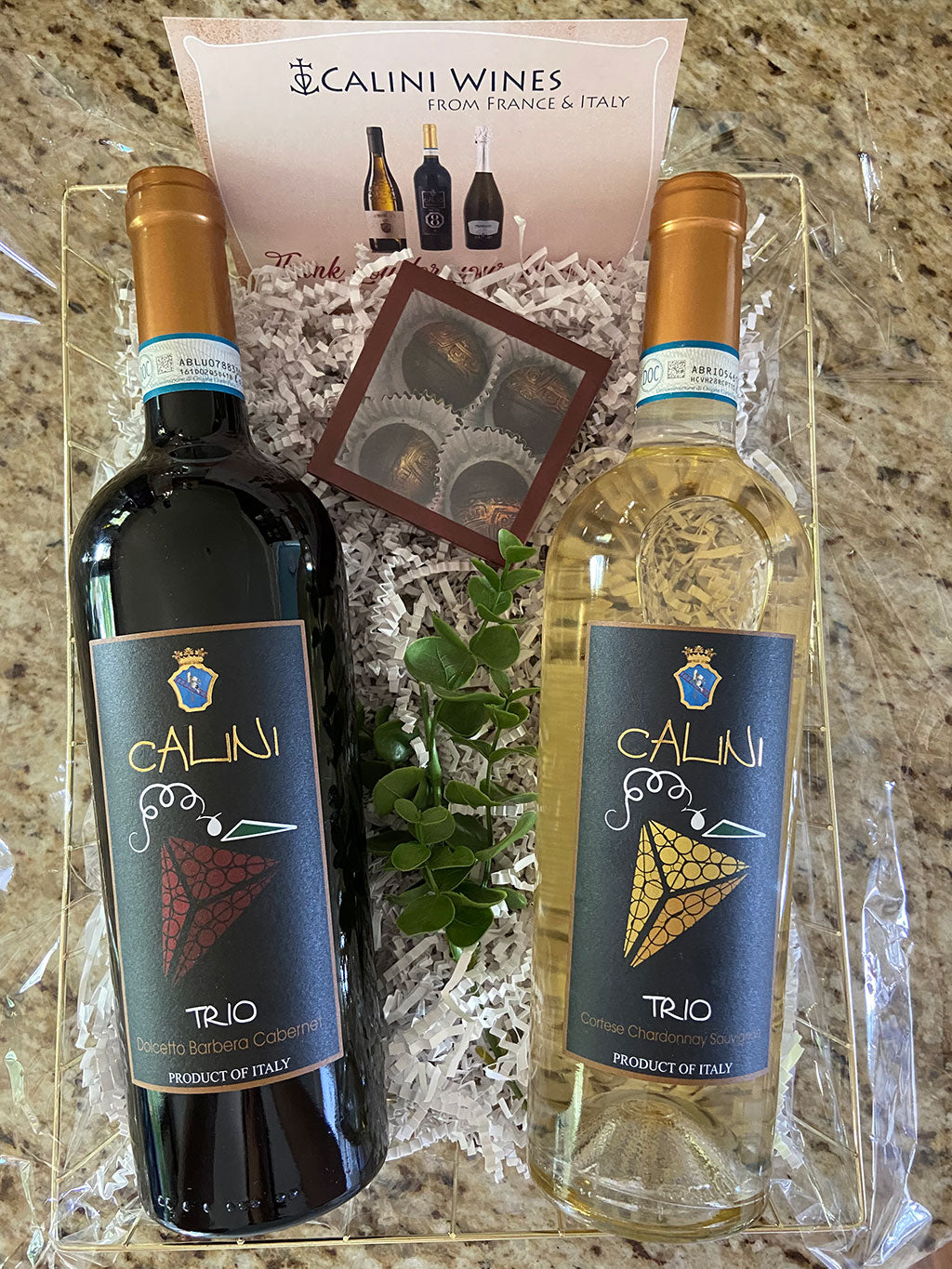 Double Wine Gift Baskets