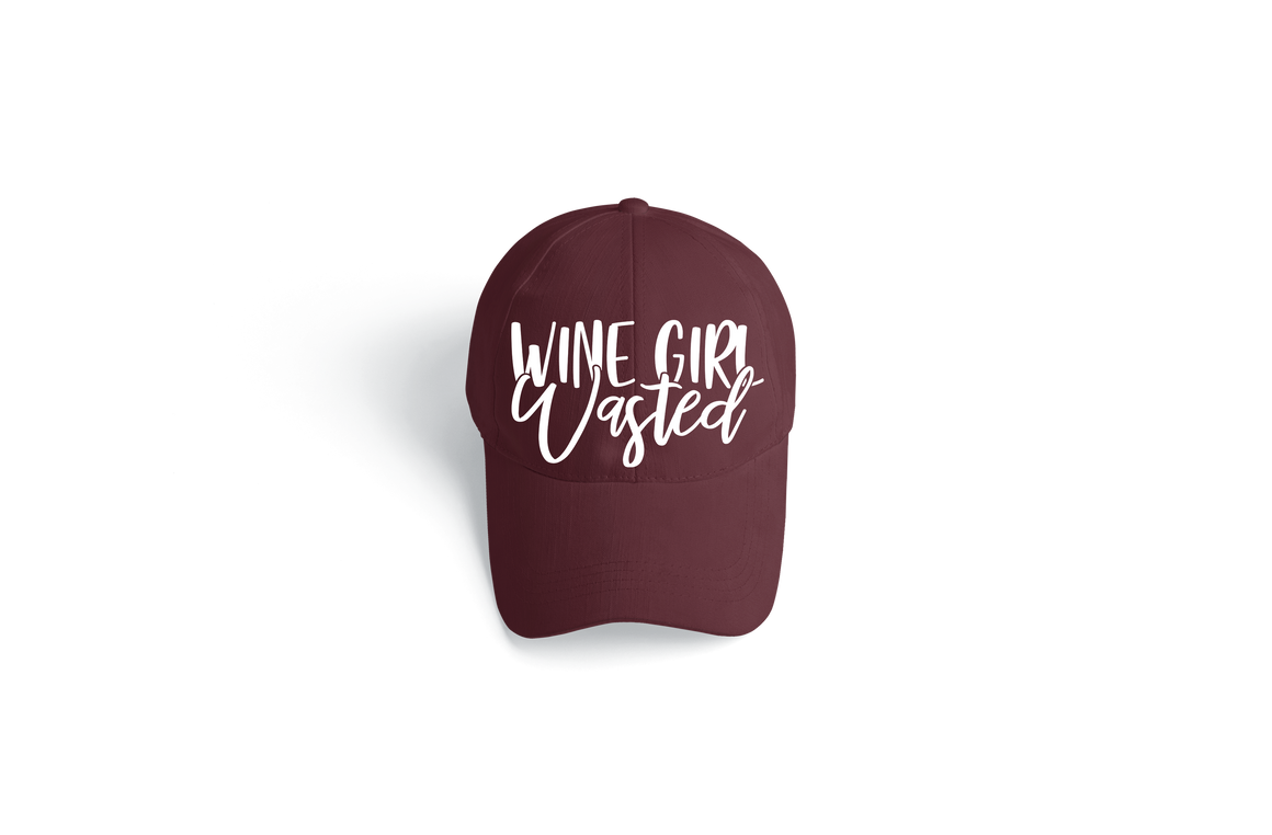 Wine Girl Wasted Hat