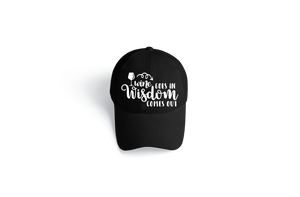 Wine Goes In, Wisdom Comes Out Hat