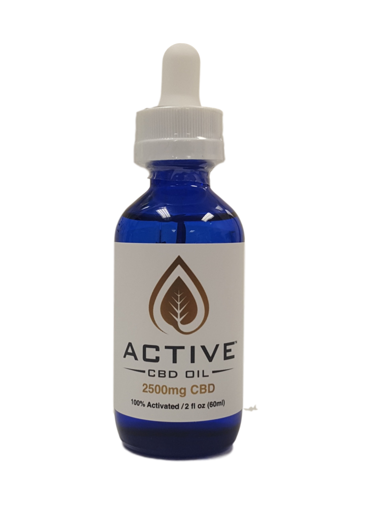 Active 2500mg CBD/MCT Oil Tincture