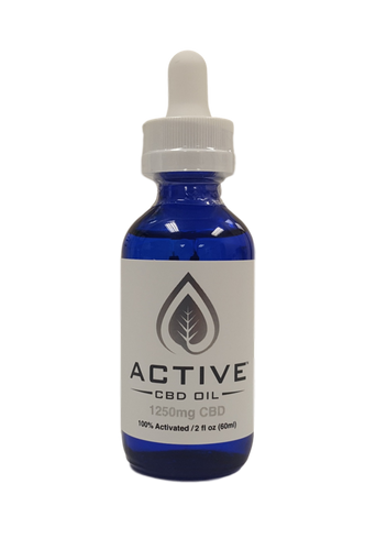 Active 1250mg CBD/MCT Oil Tincture