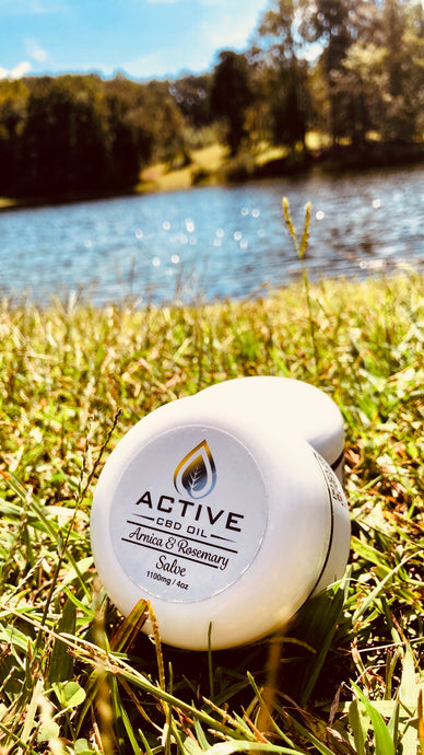 Active 1100mg CBD Oil Super Strength Salve