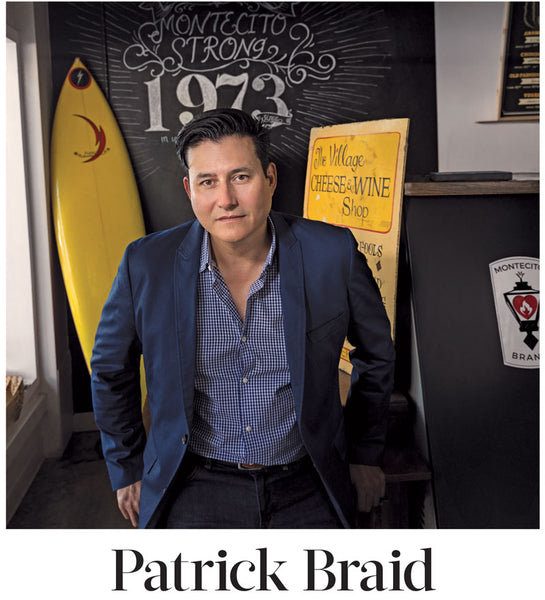 Patrick Braid featured in 805Living CEO Montecito Brands