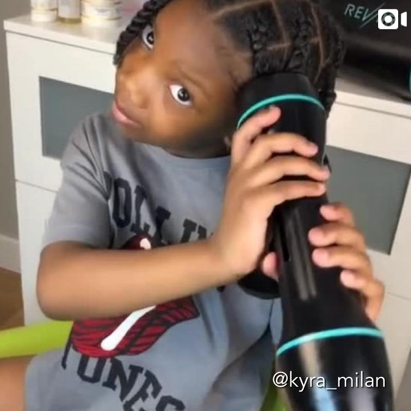 If this 8-year-old can use a RevAir...