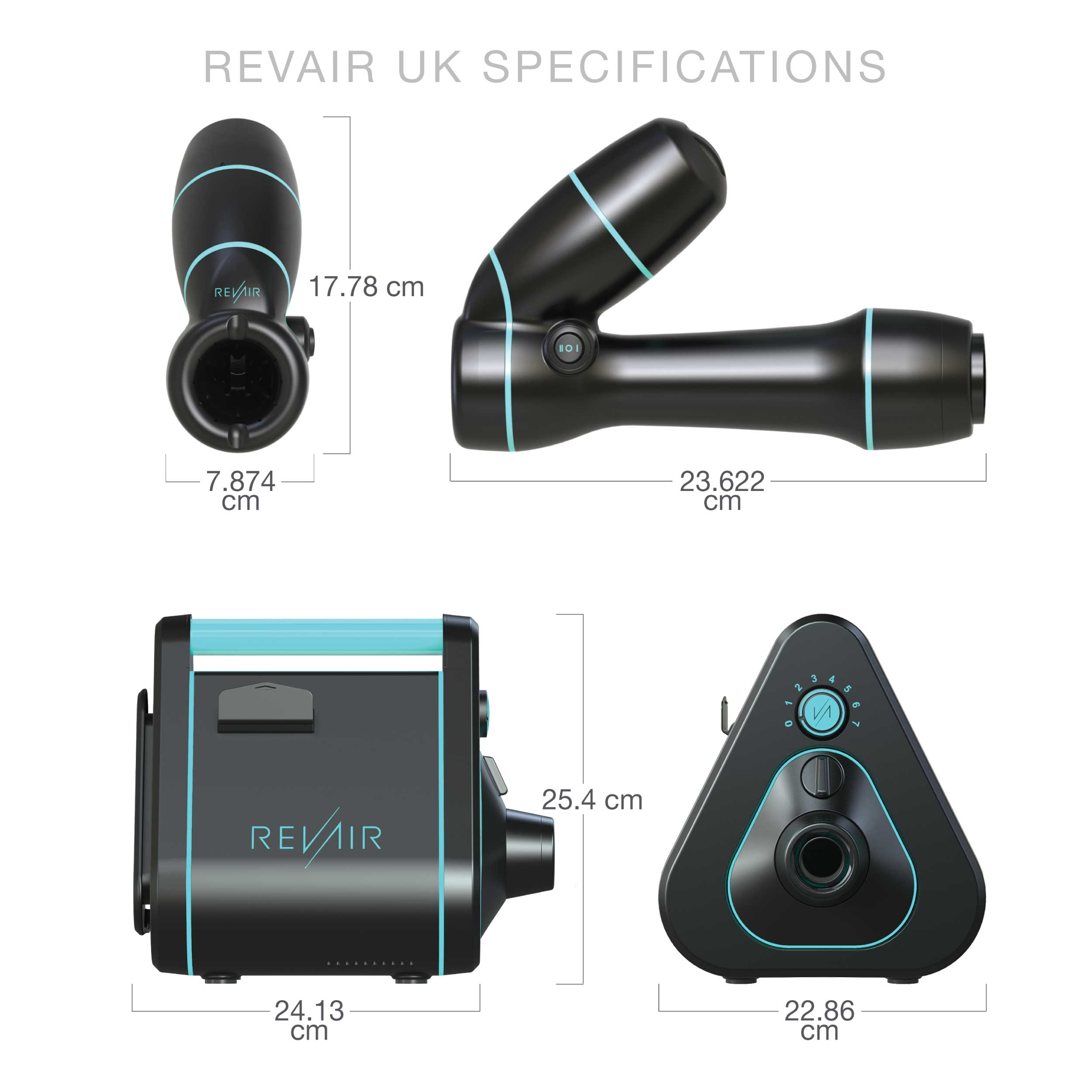 RevAir UK Technical Specifications