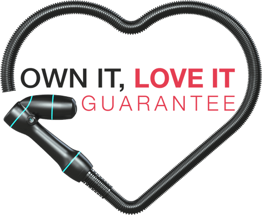 Own it, love it guarantee logo