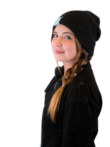 ONE SIZE DARK GREY BEANIE