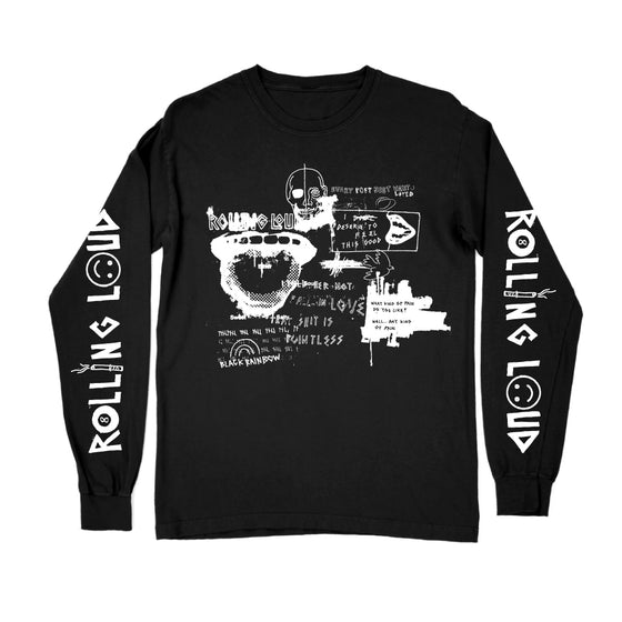 For Those Who Sin Long Sleeve Line Up Tee